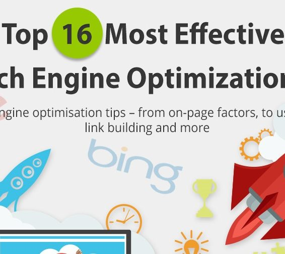 Top 16 Most effective search engine optimization infographic -