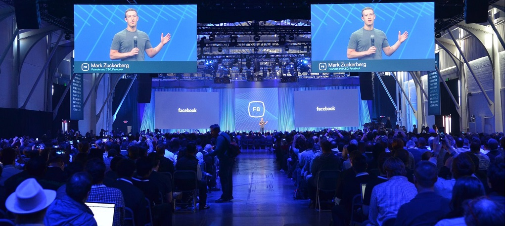 facebook F8 conference 2016