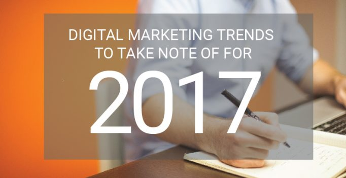 Digital Marketing Agency Trends Predicted For 2017