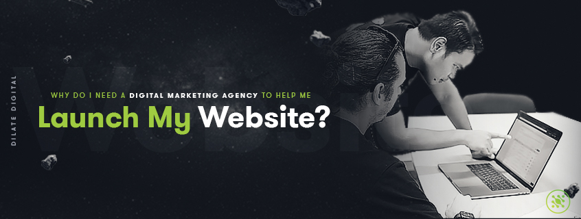 Why do i need a digital marketing agency to help me launch my website