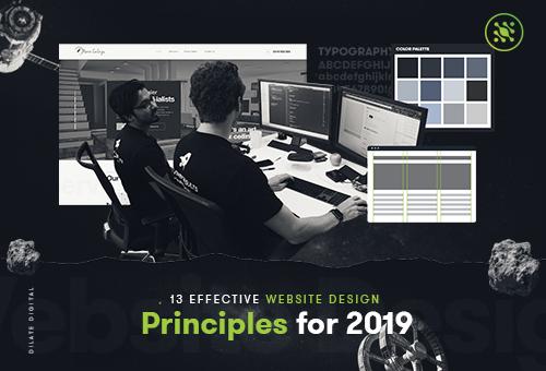 13 Effective Website Design Principles for 2019