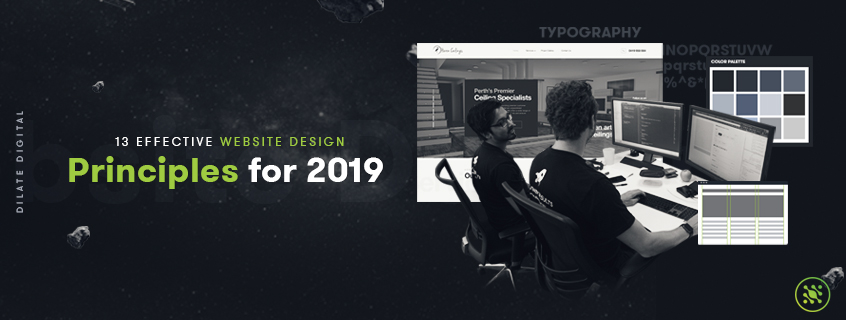 13 Effective Website Design Principles for 2019