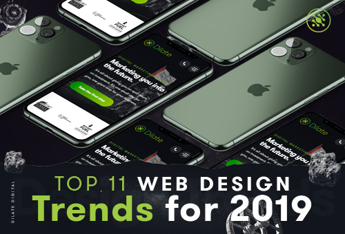 Top 11 Web Designs Trends For 2019