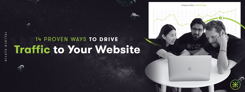 14 Proven Ways to Drive Traffic to Your Website