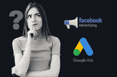Which is cheaper Google Ads or Facebook Ads