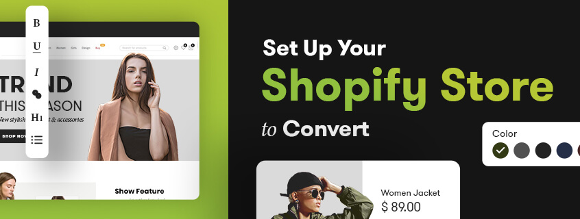 Set up your Shopify Store to Convert
