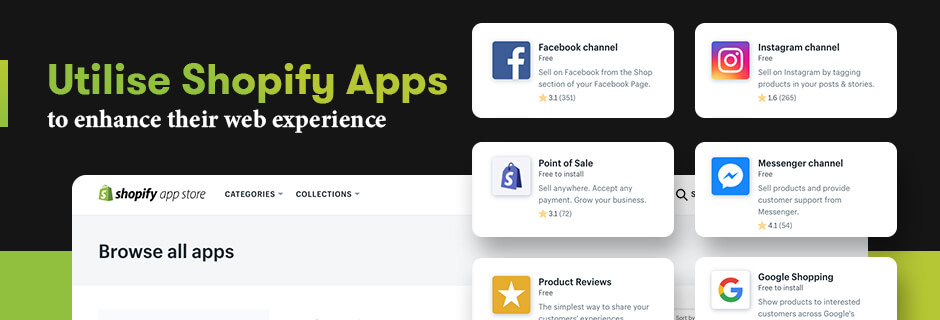 Utilise Shopify Apps