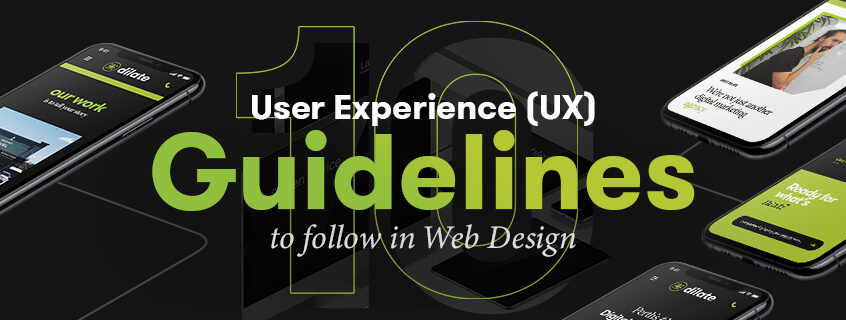 10 User Experience (UX) Guidelines to follow in Web Design