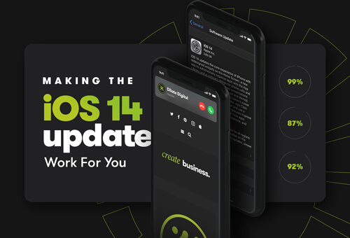 Making The iOS 14 Update